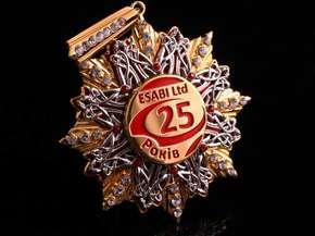 """Орден """"Esabi Ltd"""" 25 лет"""