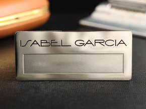 """Бейджик """"Isabel Garcia"""""""