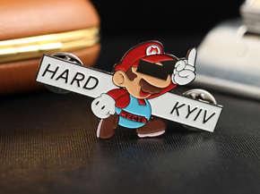 "Значок ""Hard Kyiv"""