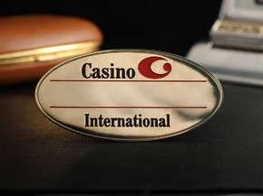 """Бейдж """"Casino"""""""