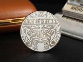 """Монета """"Gjallarhorn"""""""