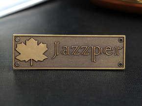 """Шильд """"Jazzper"""""""