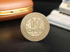 """Монета """"10 Credits"""""""