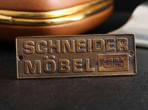 "Шильд для мебели ""Schneider"""