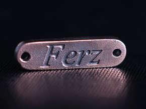 Шильдик для одежды Ferz