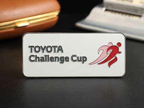 "Бейдж ""Toyota Challenge Cup"""