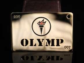 VIP карта с логотипом
