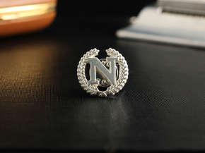 """Значок с эмблемой """"N"""""""